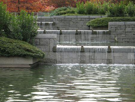 urban water fountain