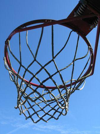 basketball net Banco de Imagens