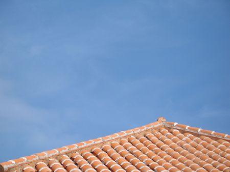 clay roof Reklamní fotografie
