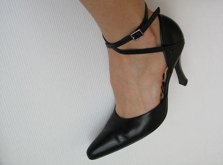 zwarte sexy schoen