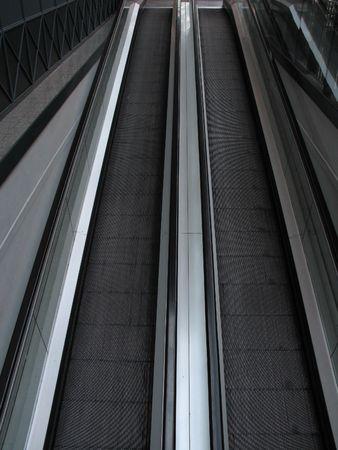 black escalator Banco de Imagens