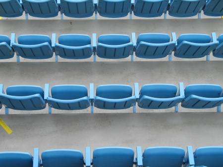 blue seats Stock fotó