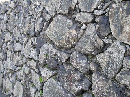 do not enter: grey old stone background Stock Photo