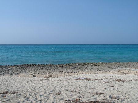 blue tropical ocean view