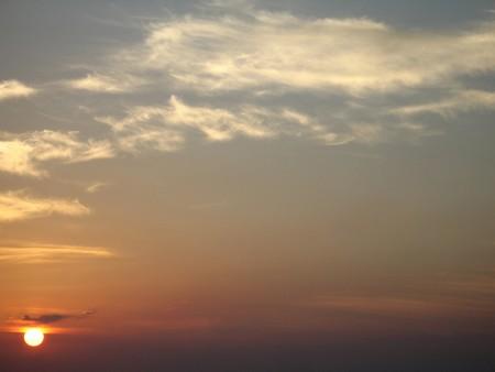 admiring: tropical seascape sunset