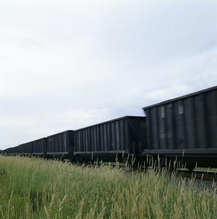Moving train Stock Photo - 16831958