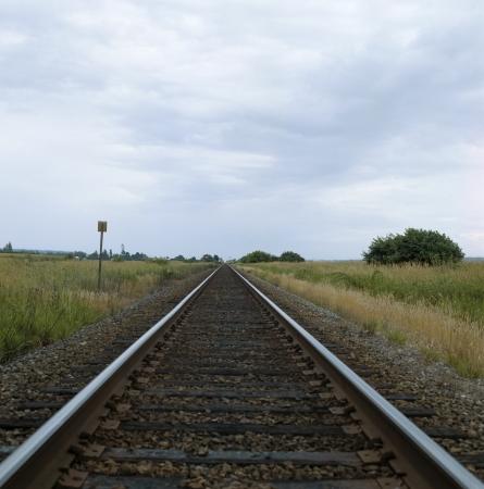 train track Stock Photo - 16802547