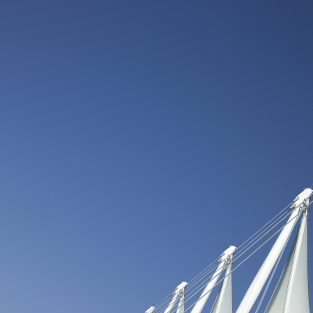 engineer's: White sails and blue sky Stock Photo