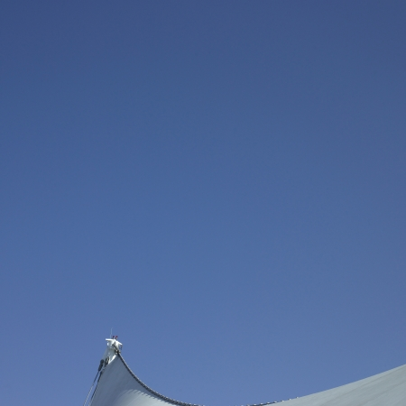 Sails and blue sky
