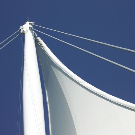 engineer's: Sails and blue sky