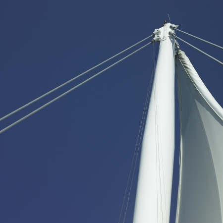 Sails and blue sky Stock Photo - 18068027