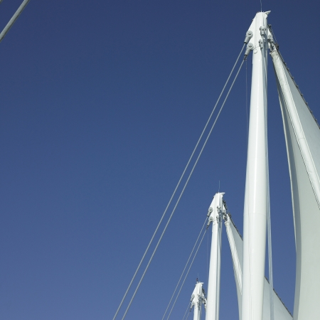 Sails and blue sky Stock Photo - 18007497