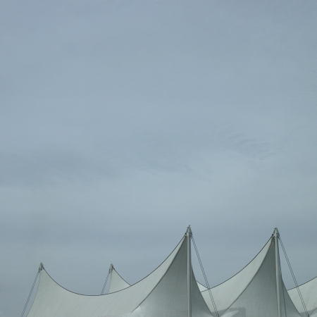 Sails and grey sky