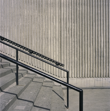 Konkrete Treppen Standard-Bild - 18007527