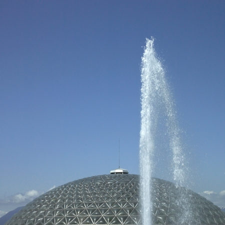 Fountains and dome photo