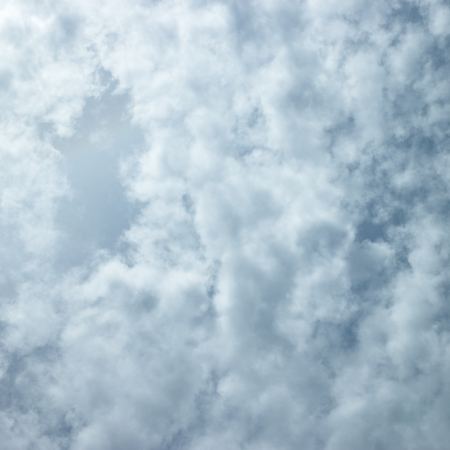 cloudy sky Stock Photo
