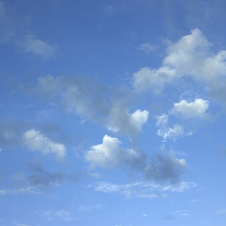 body dimensions: cloudy sky Stock Photo