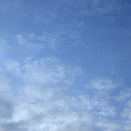 cloudy sky 写真素材