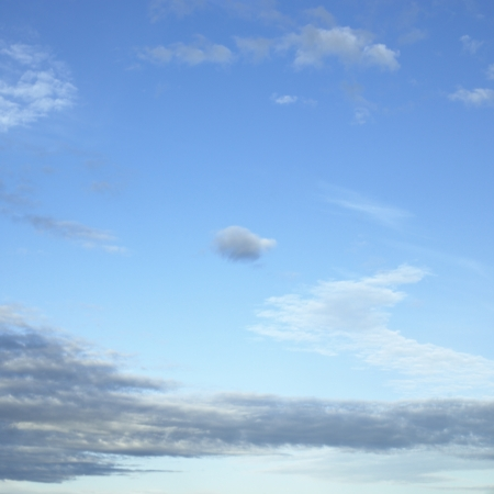 body dimensions: blue sky with thin clouds Stock Photo