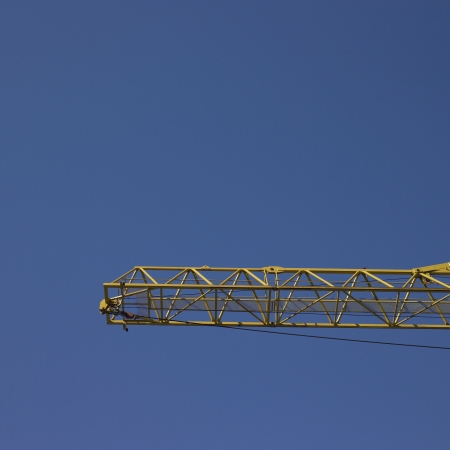 light duty: construction crane