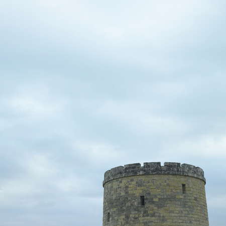 robustness: Tower of an old castle Stock Photo