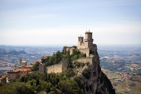 San Marino castle photo