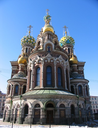 Church of the Savior on Blood, St. Petersburg, Russia photo