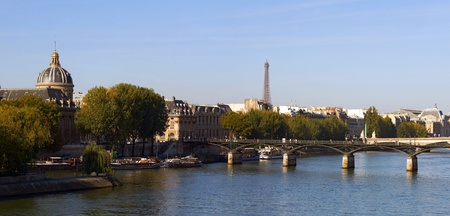 Panoramic view of Paris, France photo