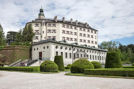 Famous Ambras Castle, Innsbruck, Austria