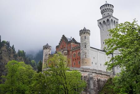 Neuschwanstein Castle, Bavaria, Germany Editorial