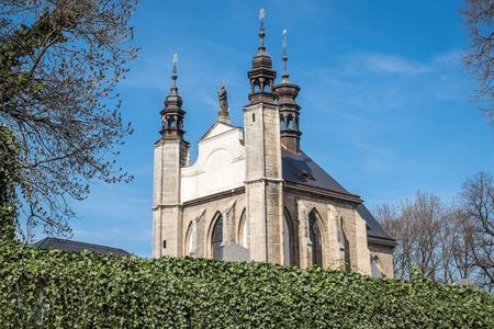 catholic chapel: The Sedlec Ossuary (Czech: Kostnice v Sedlci) is a small Roman Catholic chapel in Czech Republic