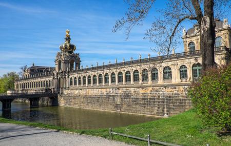 Dresdner Zwinger in Dresden, Germany