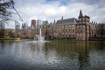 ministry: The Binnenhof (House of Parliament) in the Hague (Den Haag). Netherlands.