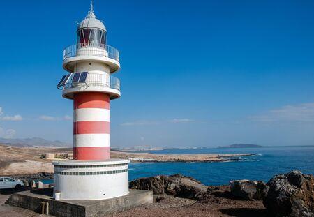 Lighthouse Faro de Arinaga, Gran Canaria, Canary Islands