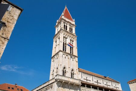 The Cathedral of Saint Lawrence in Trogir, Croatia Stock Photo