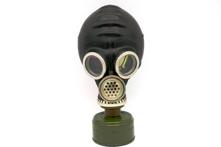gas mask isolated on white background