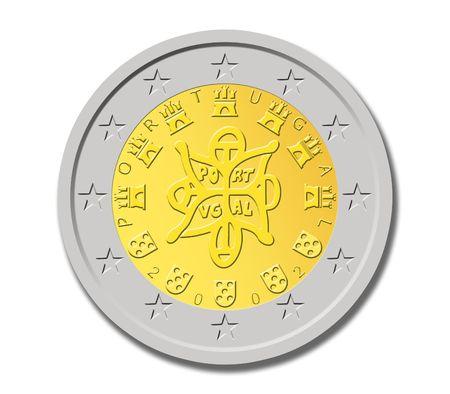 portuguese: Portuguese Two Euro Coin