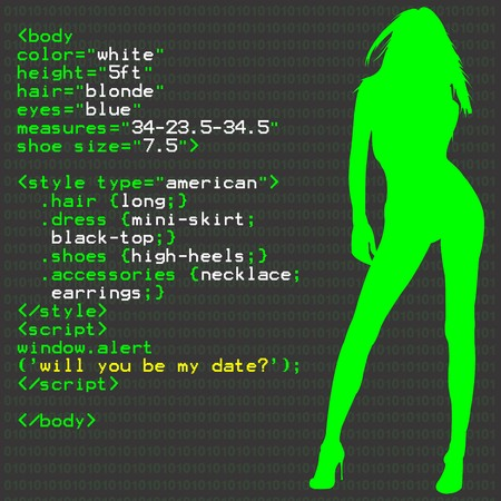 Woman In Code photo