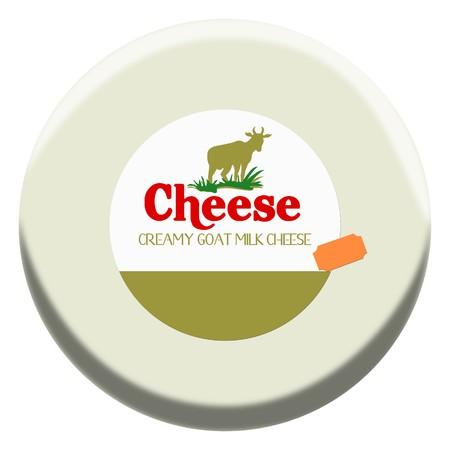 goat cheese: Yummy block of Goat Creamy Cheese