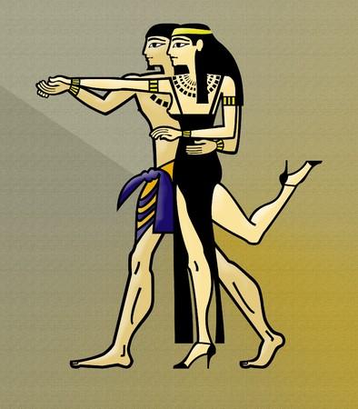 Ancient Egyptian Celebration photo