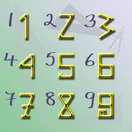 origin: The Origin of Arabic Numbers (Theory 2)