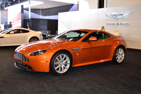 ASTON MARTIN at Qatar Motor Show Second Exhibition on the 25th of January 2012