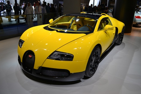BUGATTI at Qatar Motor Show Second Exhibition on the 25th of January 2012