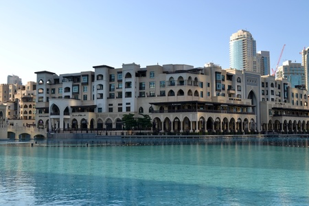 A Souq or market & shopping area in Dubai