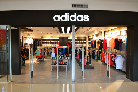 Adidas sports shop in Gaisano mall is one of the most famous sports wear specialists allover the world.