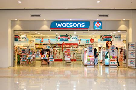 far east: Watsons tienda de cuidado personal es una de las m�s famosas tiendas de salud y cuidado de la belleza en el Extremo Oriente desde 1828. Editorial