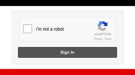 reCAPTCHA version two. This account verification method through images is a modern security solution for users. Editorial