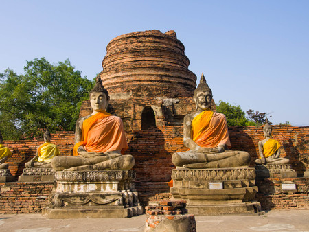 ayuthaya: Wat Yai Chai Mongkhon Temple,  Ayuthaya Province, Thailand