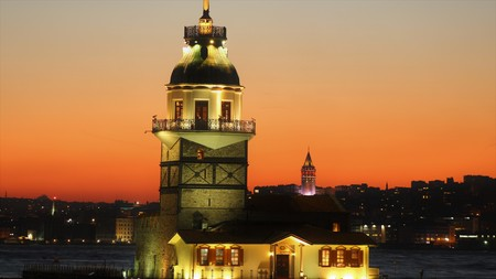 Maiden Tower with Galata