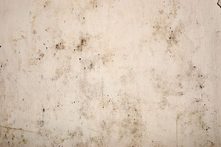 plaster mould: The old peeled wall with dirt stains